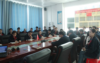 Anhui Yufeng Electric Forklift company launches in-house training on effectiveness management