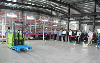 Feixi County Party Secretary Jin Chengjun visited Yufeng Equipment Research and Guidance Work