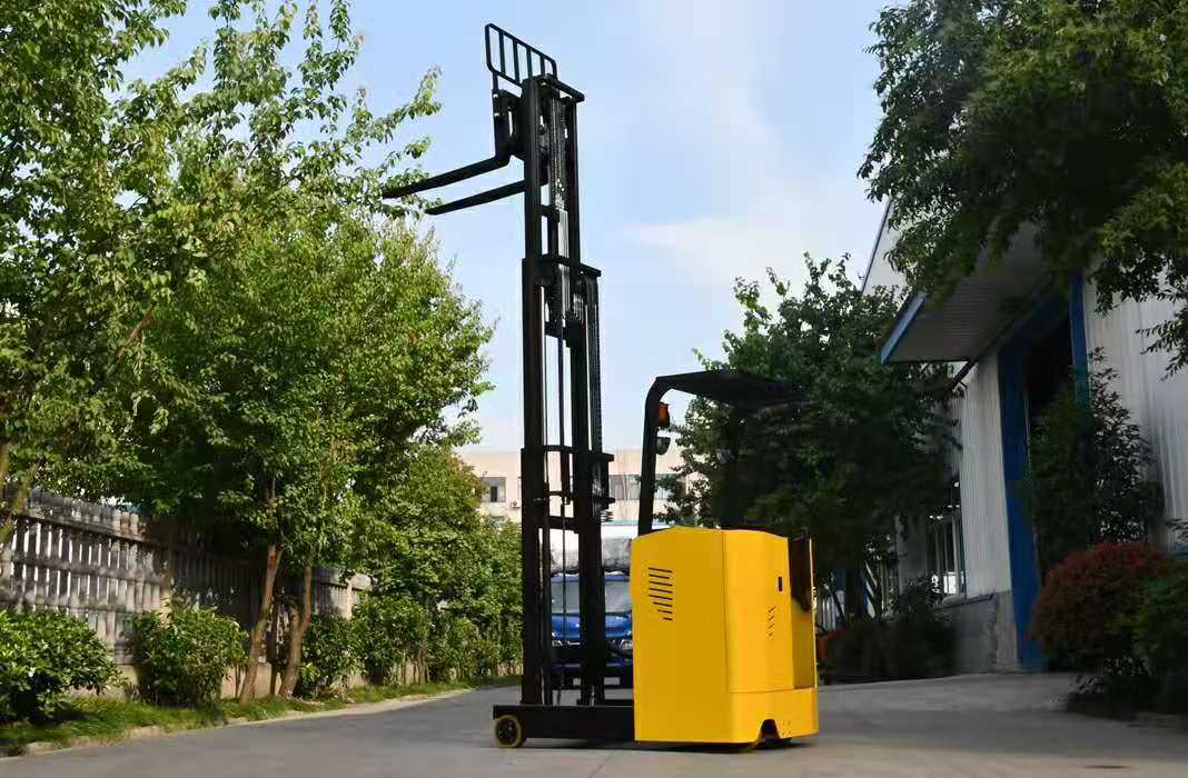 truck Forklift Electric 1ton 1.5 ton 2ton Capacity Fork Lift reach forklift stacker with AC motor