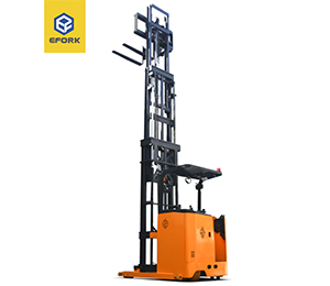 Electric Three Way Stacker Forklift