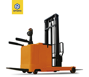 Small  Standing-on Drive Reach Truck( 24V)