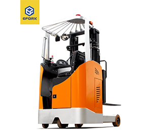 Seated type electric reach truck 1200/1500 Kg