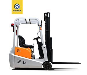3 Wheel  Electric Counterbalanced Weight Forklift